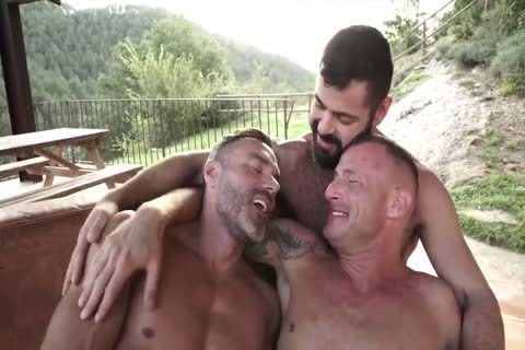 Manuel Skye, Logan Rogue And Victor D'Angelo