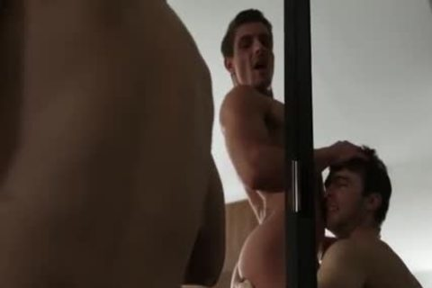 Large 10-Pounder homosexual ass Sex With cumshot