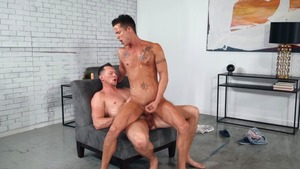 Deepthroat defiance: bare - Pierce Paris and Nic Sahara American Sex