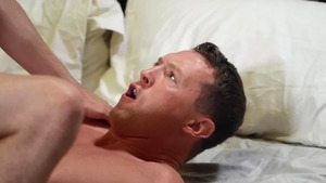 Drill My Hole: American Joey Mills throat fuck in the bed