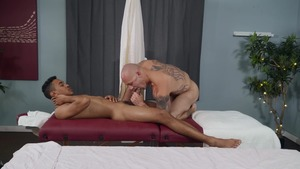 widen At The Spa: bare - Trevor Laster with Mateo Fernandez American Sex