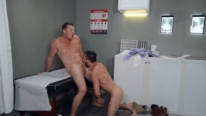DrillMyHole - Muscle american Scott DeMarco feels like gagging