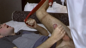 FamilyDick: Hard breeding next to sweet Lance Hart in hotel