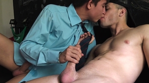 LatinLeche - Friend feels up to nailed rough
