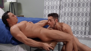 DrillMyHole: Dante Colle plus Ty Mitchell facefuck