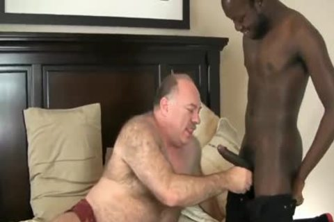 Chub Daddy Wants black penis