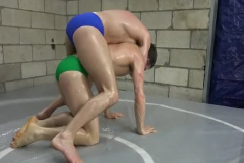 Oil Wrestling Kenny Star Vs Max Ryder UCW