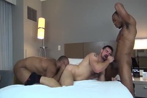 team-nailed By Two dark Males