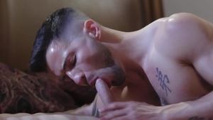 IconMale: Hard slamming with inked Nick Fitt and Casey Everett