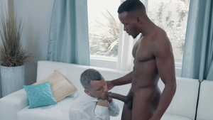 NoirMale.com: Tattooed american Colton Grey licking ass