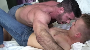 IconMale: Muscled Billy Santoro ass fucking