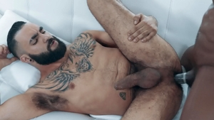 Noir Male - Zaddy pounded by huge cock Max Konnor