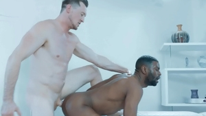 NoirMale: Pierce Paris plowed by nice big dick Taye Scott