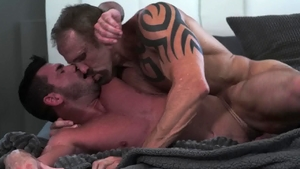 Icon Male: Athletic Dallas Steele with Billy Santoro