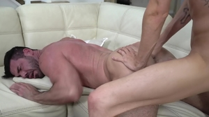 Icon Male - Hairy big dick Michael Stax rimjob