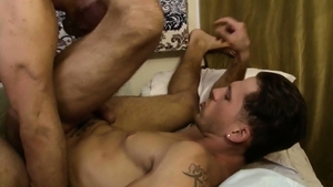 Icon Male: Muscled mature Max Sargent receives rough sex in HD