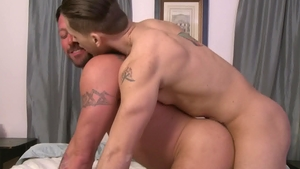 Icon Male: Muscle Hugh Hunter together with Roman Todd