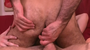 IconMale.com: Hairy Adam Russo has a taste for slamming hard
