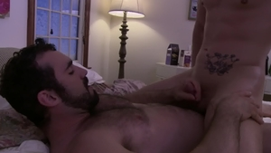 IconMale: Roman Todd have fun with huge penis guy
