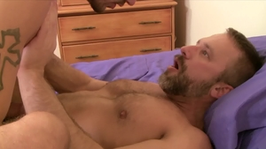 IconMale.com - Ty Roderick having fun with huge cock daddy