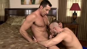 IconMale.com: Gay Jessie Colter reality blowjob cum