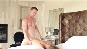 Next Door Buddies - Gay Jackson Reed bareback butt sex