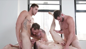 Next Door Originals - Pierced Dante Martin throat fucking