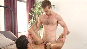 NextDoorRaw: Amateur Ty Mitchell bareback kissing each other