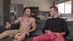 Next Door Studios - Caucasian Quentin Gainz loves orgy