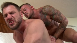 MenOver30.com: Sean Duran beside Hans Berlin bareback ass fuck