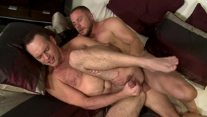 MenOver30.com: Bald Hans Berlin receiving facial