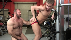Dylan Lucas - Hairy Ian Levine rimming