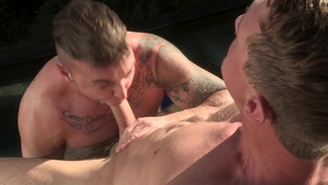 FalconStudios - Pierce Paris with tattooed Jake Ashford