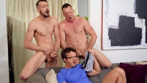 Drill My Hole: Gay Pierce Paris among Johnny B doggy fucking