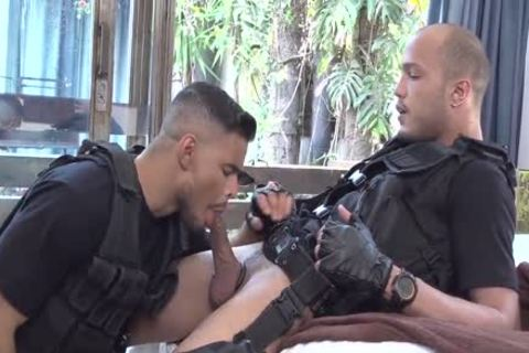SWAT kinky Cops - Richard & Kadu