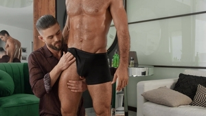Drill My Hole - Fingering with wet Ryan Rose beside Diego Sans