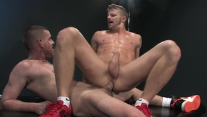 Raging Stallion - Hard nailining with Keiran & Jeremy Stevens