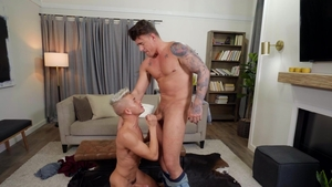 Drill My Hole: Twink boy JJ Knight smashed by Andy Taylor